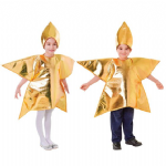 GOLD STAR CHILDRENS NATIVITY FANCY DRESS COSTUME